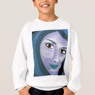 THE LOOK ( blue ) Sweatshirt