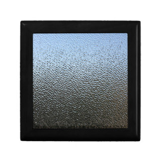 The Look of Architectural Textured Glass Small Square Gift Box