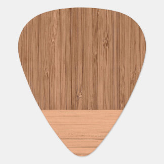 The Look of  Bamboo Border Wood Grain in Almond Plectrum