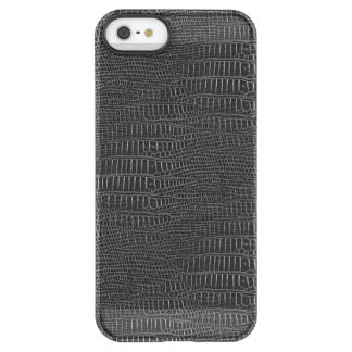 The Look of Black Realistic Alligator Skin Permafrost® iPhone SE/5/5s Case