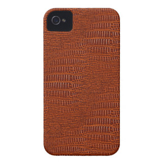 The Look of Brown Realistic Alligator Skin iPhone 4 Covers