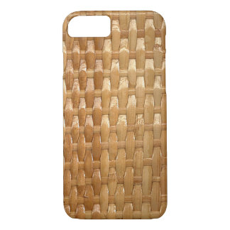 The Look of Lacquer Wicker Basketweave Texture iPhone 8/7 Case