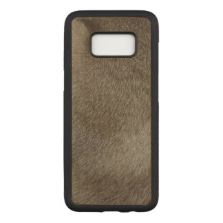 The look of Luxurious Seal Point Siamese Cat Fur Carved Samsung Galaxy S8 Case
