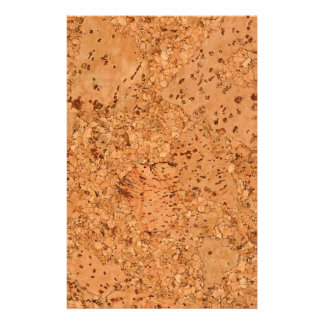 The Look of Macadamia Cork Burl Wood Grain 14 Cm X 21.5 Cm Flyer