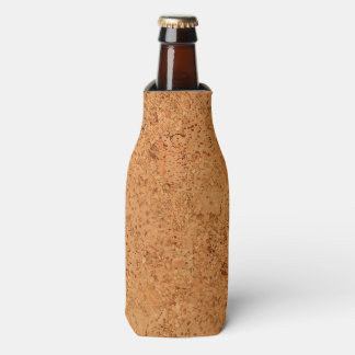 The Look of Macadamia Cork Burl Wood Grain Bottle Cooler