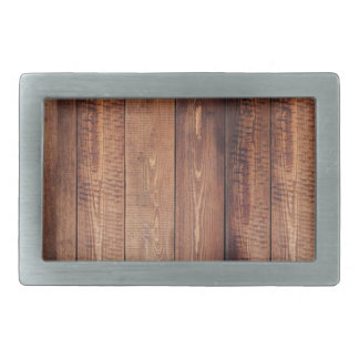 The look of real wood! rectangular belt buckle