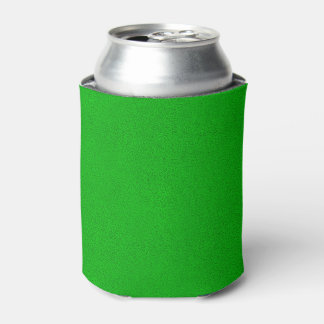 The look of Snuggly Bright Neon Green Suede Can Cooler