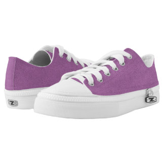 The look of Snuggly French Lilac Lavender Suede Low Tops