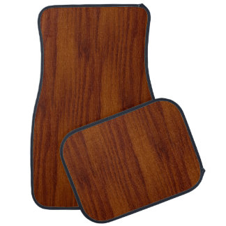 The Look of Warm Oak Wood Grain Texture Car Mat