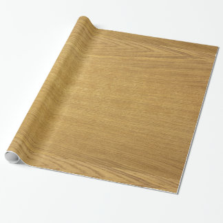 The look of wood wrapping paper
