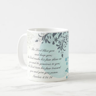 The Lord Bless You, Numbers 6:24, Bible Verse Coffee Mug