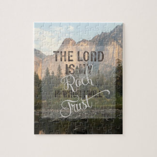 The Lord is my Rock - Ps 18:2 Puzzles
