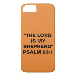 """The Lord Is My Shepherd"" Apple iPhone 8/7 Case"