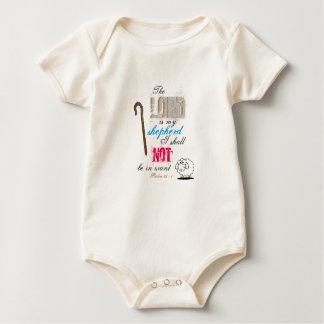 The Lord is my shepherd Baby Bodysuit