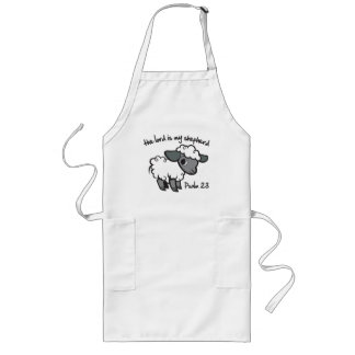The Lord is my Shepherd Long Apron