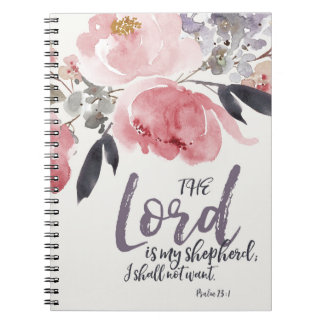 The Lord is My Shepherd Notebook