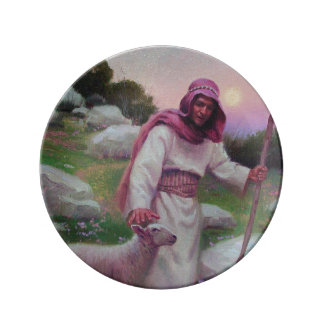 The Lord Is My Shepherd Porcelain Plate