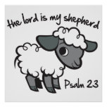 The Lord is my Shepherd Print