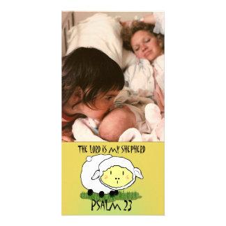 The LORD is my shepherd Psalm 23 Infant t-shirt- U Custom Photo Card