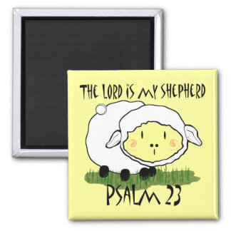 The LORD is my shepherd Psalm 23 Infant t-shirt- U Square Magnet