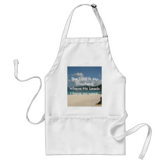 The Lord is My Shepherd Standard Apron