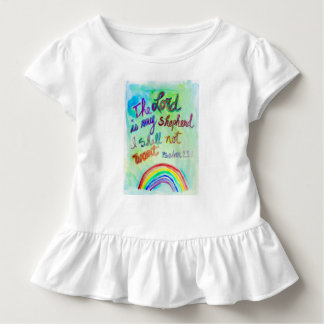 The LORD is My Shepherd Toddler Dress