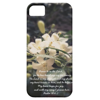 The Lord is my Strength & Shield - Jasmine iPhone iPhone 5 Covers
