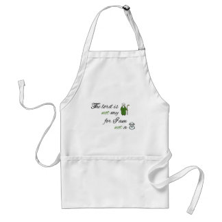 The lord is not my shepperd aprons