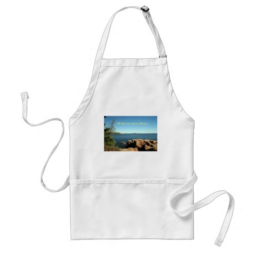 The Lord is the rock of our salvation, Apron