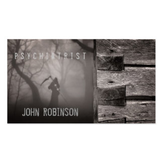 The Lord Of The Death Psychiatrist Business Card