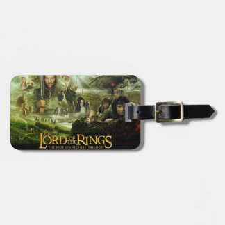 The Lord of the Rings Movie Poster Luggage Tag