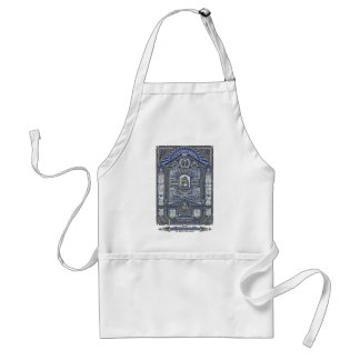 The Lord s Prayer vintage engraving Aprons