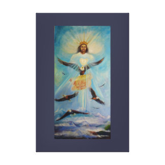 The Lord Says by Sue Ann Jackson Canvas Print