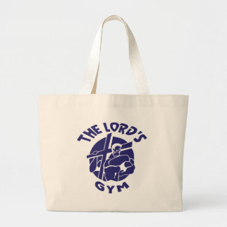 The Lord's Gym - Blue Tote Bag