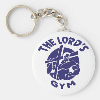The Lord's Gym - Blue Keychains