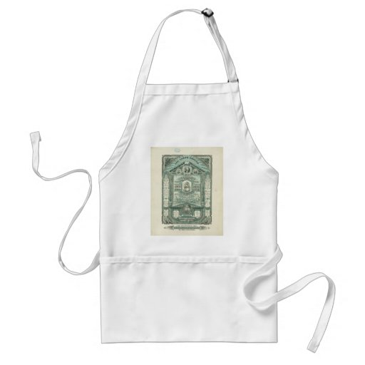 The Lord's Prayer and the Ten Commandments Apron