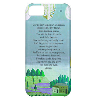 The Lord's Prayer Christian themed art iPhone 5C Case