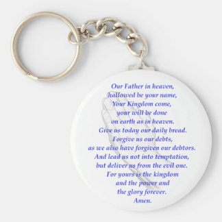 The LORD's Prayer Key Ring