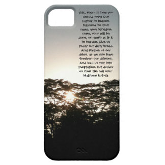 The Lord's Prayer Phone Casing Case For The iPhone 5