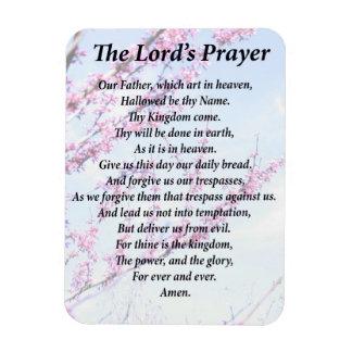The Lord's Prayer Rectangular Photo Magnet