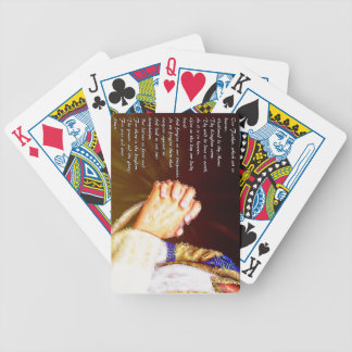The Lords Praying Hands Bicycle Playing Cards