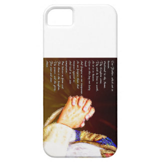 The Lords Praying Hands iPhone 5 Cases
