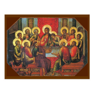 The Lord's Supper Postcard