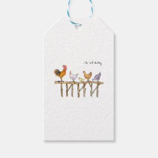 The lost duckling, chickens and duckling gift tags
