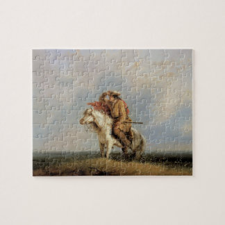 The Lost Greenhorn, Lost on the Prairie by Miller Jigsaw Puzzle