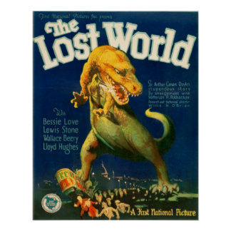 The Lost World (1925 Silent Film) Poster