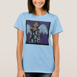 THE LOTTERY ANGEL - lucky numbers t-shirt