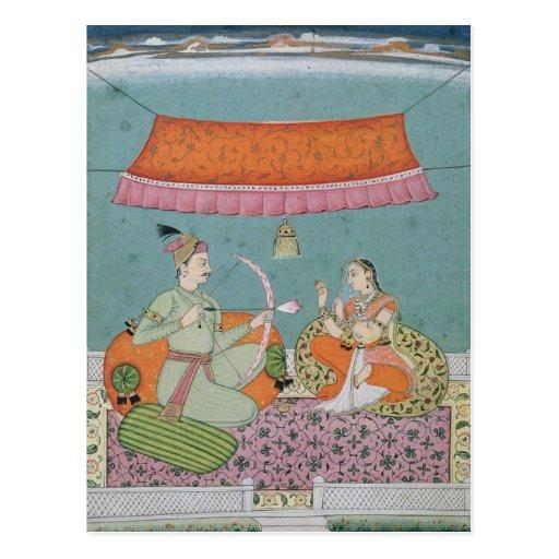 The Lotus Arrow, Bilaspur, c.1750 Post Cards