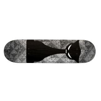 The Lotus Cat 19.7 Cm Skateboard Deck