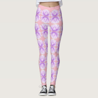 The Lotus Pattern Leggings